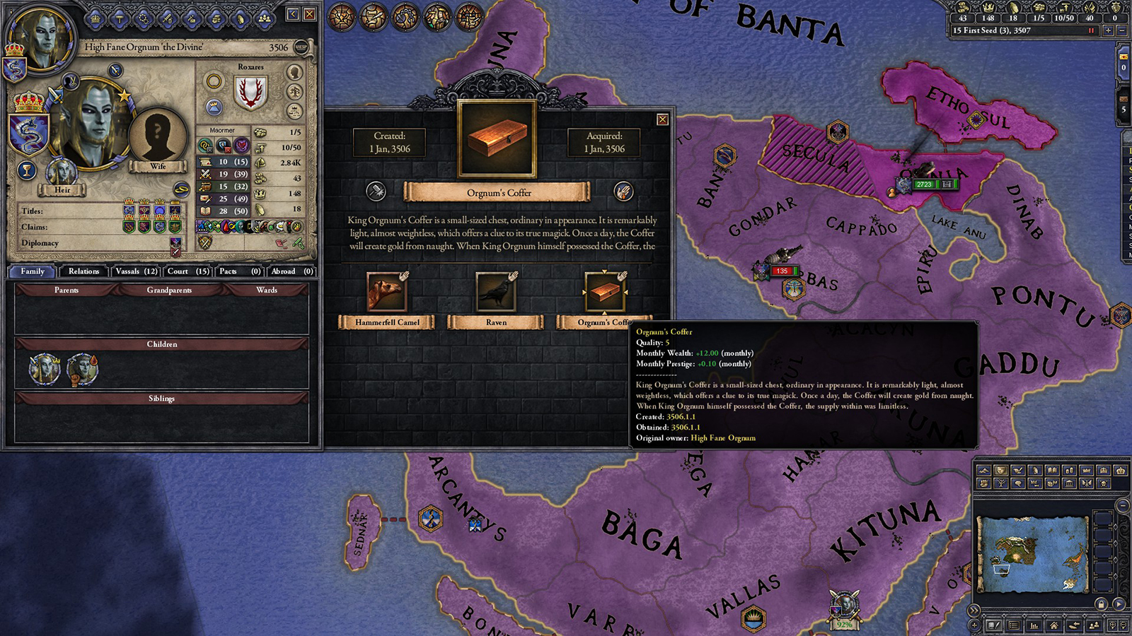 Elder Kings, The Elder Scrolls Total Conversion for Crusader Kings 2